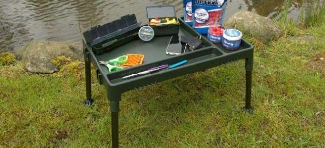 Из чего сделать стол на рыбалке