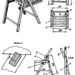 Складные стулья из металла для отдыха на природе своими руками чертежи 17