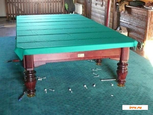 Бильярдный стол как его сделать самому