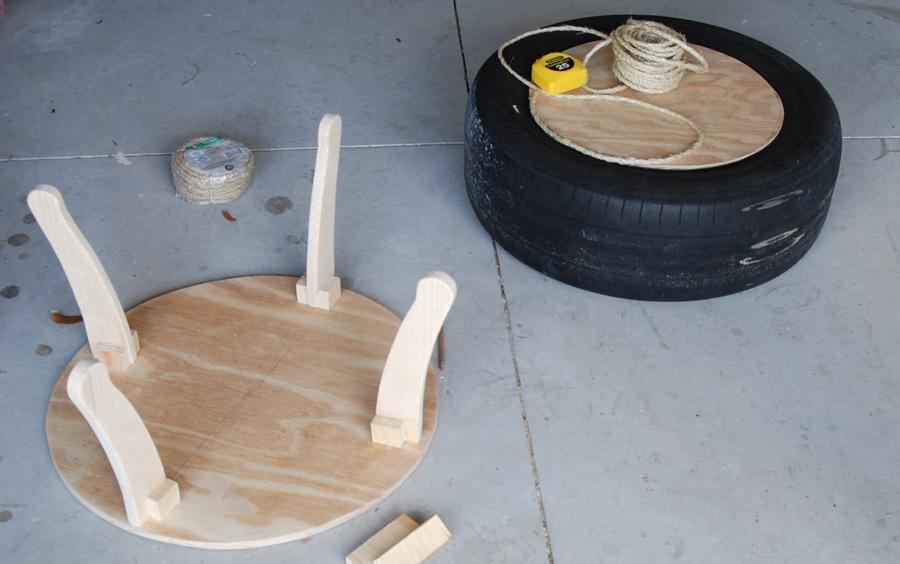 Мебель из шин своими руками пошагово в