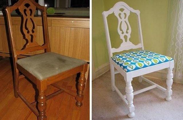Фото стулья своими руками