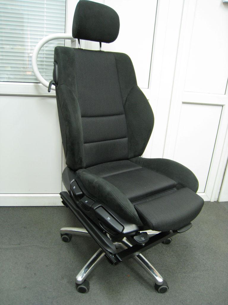 Кресло в офис своими руками