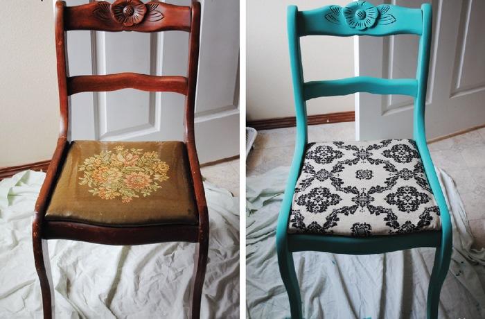 Преобразить старое кресло своими руками