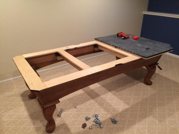 Как сделать стол для бильярд 156