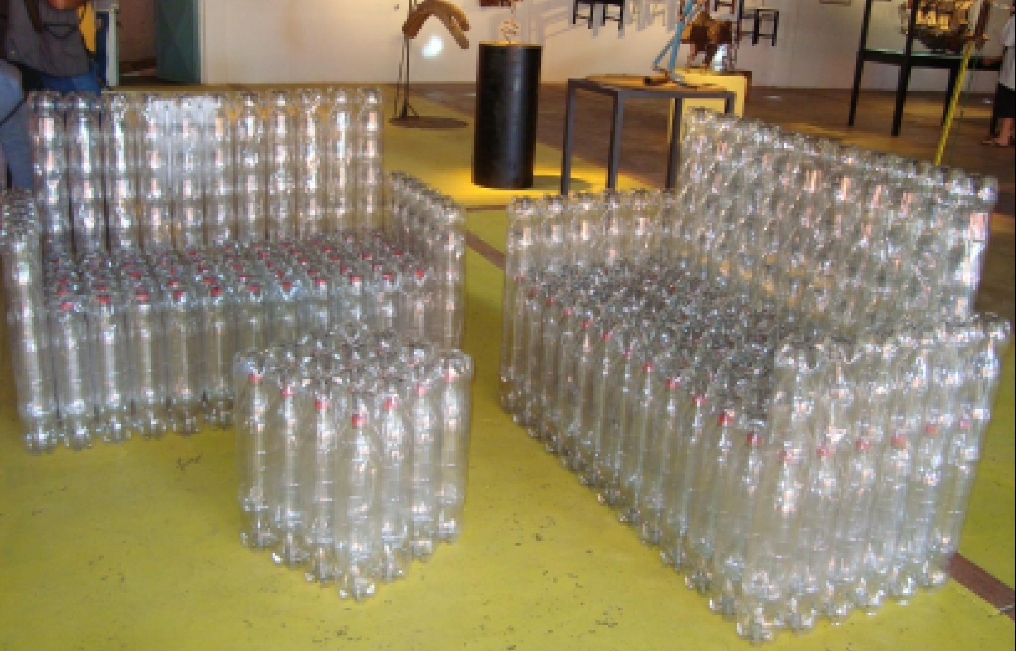 Кресло из пластиковых бутылок своими руками пошагово