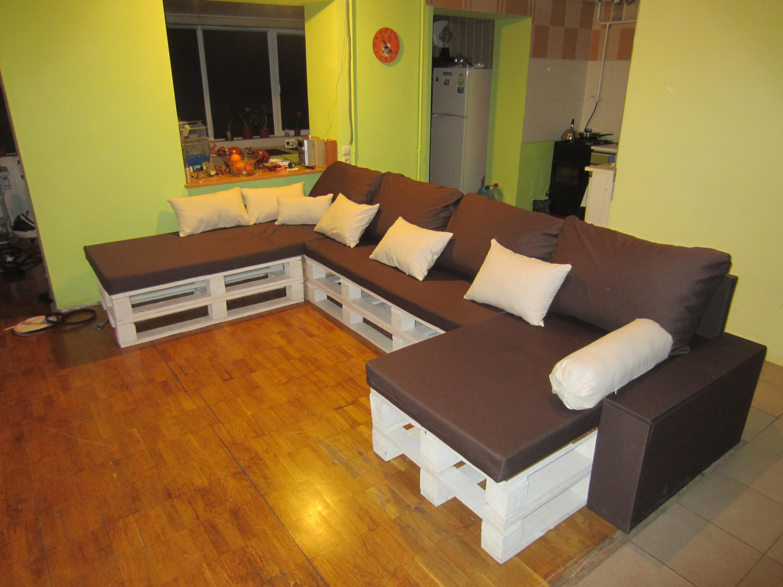 Как делать диван своими руками 979