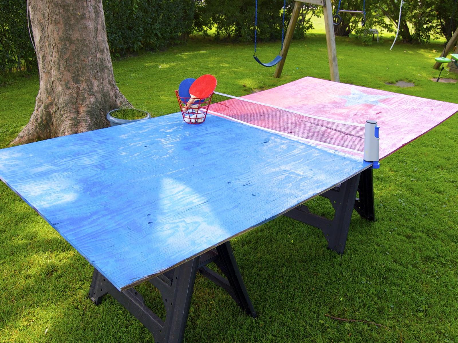 Теннисный стол своими руками 1