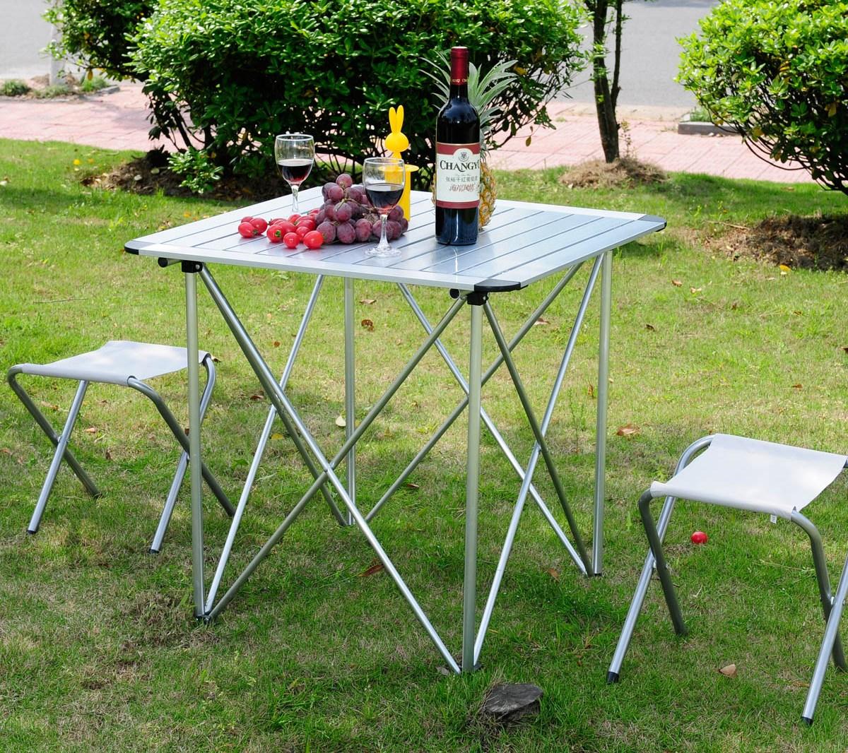 Дачные столики и стульчики для пикника своими руками 96