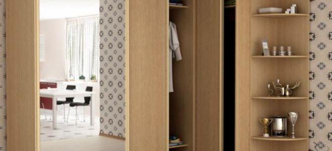 Как смастерить угловой шкаф своими руками?