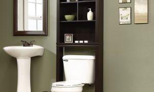 Как сделать шкаф в туалете за унитазом своими руками?