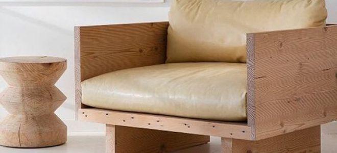 Как своими руками сделать кресло из дерева