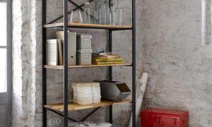 Как сделать книжный шкаф в стиле лофт своими руками?
