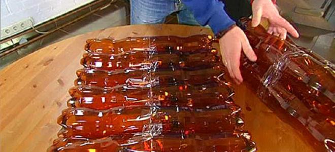 Комфортный стул из пластиковых бутылок своими руками