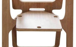 Мебель своими руками – стул складной из фанеры