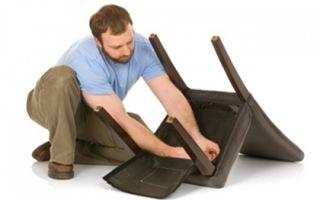 Ремонт стульев из дерева своими руками — интересно и экономно