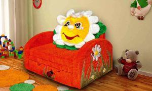 Делаем детский диван своими руками