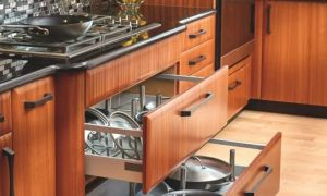 Каковы стандартные размеры кухонных шкафов?