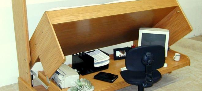 Как своими руками сделать стол-кровать?