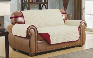 Как сделать накидку на диван своими руками?