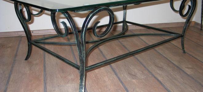 Как сделать металлический стол своими руками?