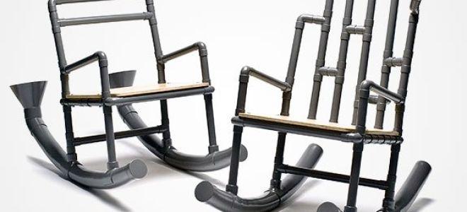 Как своими руками сделать кресло-качалку, используя профильные трубы (схема и чертеж)