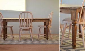 Как сделать кухонный стол из дерева своими руками