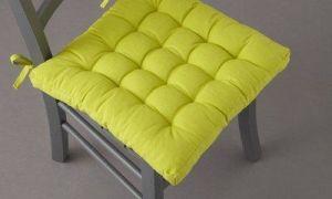 Подушки на стулья своими руками из разных материалов