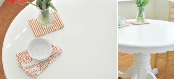 Вторая жизнь любимой мебели: как реставрировать кухонный стол своими руками
