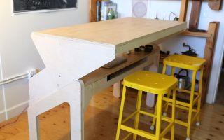Как своими руками сделать стол из фанеры?