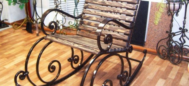 Как из металла своими руками сделать кресло-качалку (размеры, чертежи, фото)