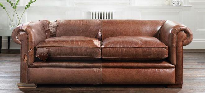 Как отреставрировать своими руками диван?