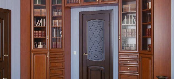 Преимущества шкафа вокруг двери