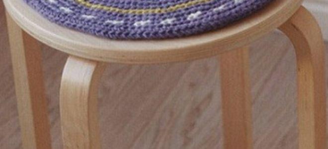 Как сделать самостоятельно вязанные чехлы на стулья