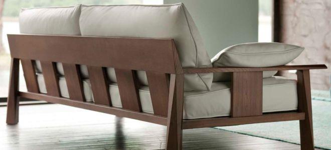 Мастерим деревянный диван своими руками
