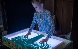 Мастерим стол для рисования песком своими руками