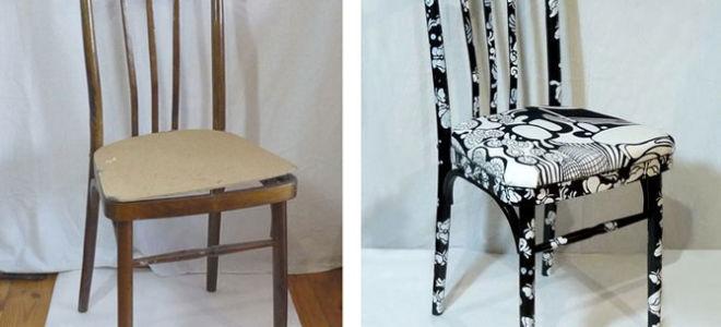 b75a9ffae_660x300 Переделка старой мебели: реставрация табурета (фото)