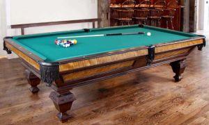 Создание бильярдного стола своими руками, а также его реставрация и перетяжка