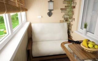 Как сделать диван на балкон своими руками