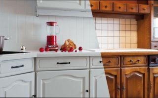 Способы обновления кухонных шкафов своими руками