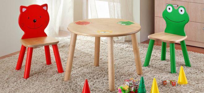 Как сделать детский столик и стульчик своими руками?