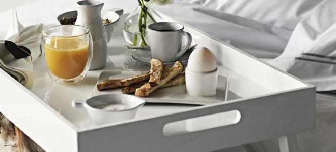 Как самостоятельно сделать столик для завтрака в постель