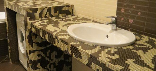 Как сделать столешницу для ванной своими руками?