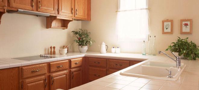 Как изготовить столешницу для кухни своими руками из плитки