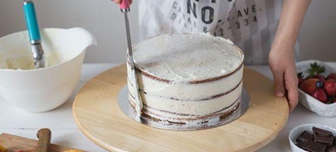 Делаем поворотный столик для торта