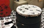 Как сделать пуфик из шины своими руками