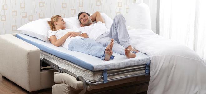 Как выбрать хороший ортопедический матрас на диван?