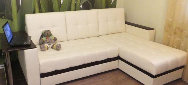 Подробная инструкция по сборке углового дивана Атланта