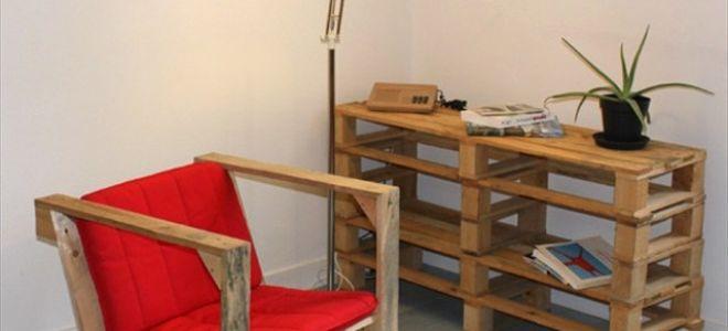 Как сделать кресло из деревянных поддонов своими руками
