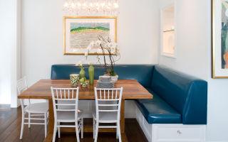 Реально ли сделать кухонный диван своими руками?