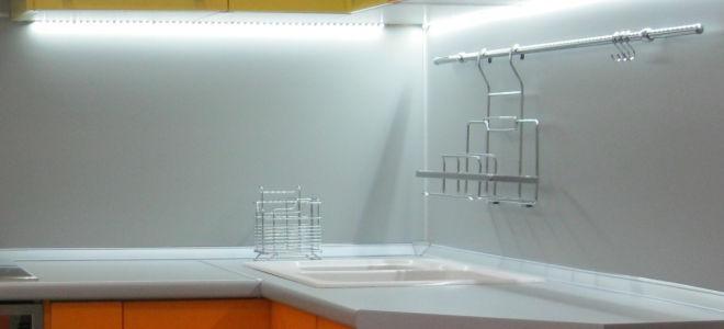Как установить светодиодную ленту на кухню своими руками?